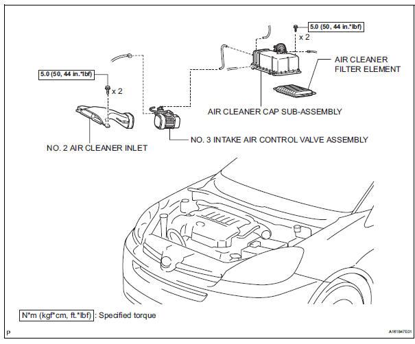 Toyota Sienna Service Manual  Intake Air Control Valve