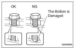 Inspect torque converter clutch assembly