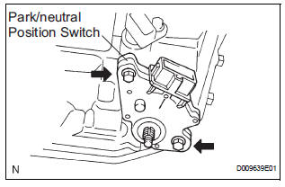 Toyota Sienna Service Manual: Disassembly - Automatic