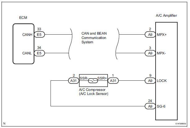 Fine Toyota Sienna Service Manual Compressor Lock Sensor Circuit Wiring Digital Resources Inamapmognl