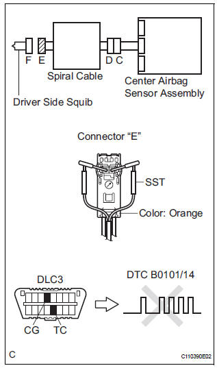 driver airbag squib 1