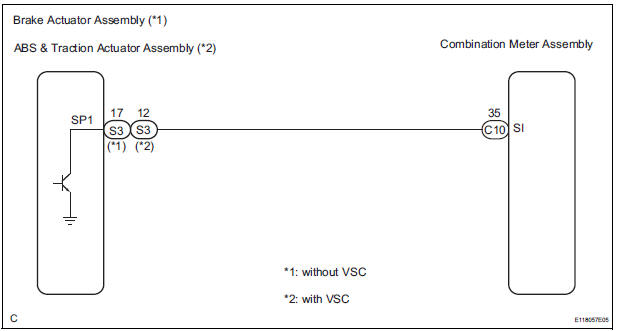 Toyota Sienna Service Manual  Speedometer Malfunction
